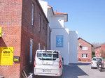 Praxis aus Strassensicht Dr. med. Michael Benjes, Hausarzt, 26434 Wangerland, Nordsee, Allgemeinmedizin, Internist