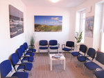 Wartezimmer Dr. med. Michael Benjes, Hausarzt, 26434 Wangerland, Nordsee, Allgemeinmedizin, Internist